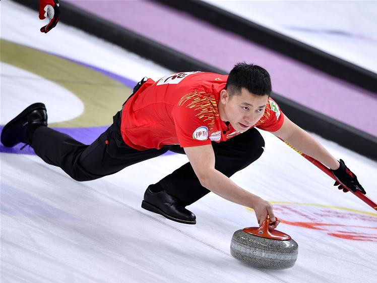 China beats Sweden 7-6 at WCF Curling World Cup Grand Final