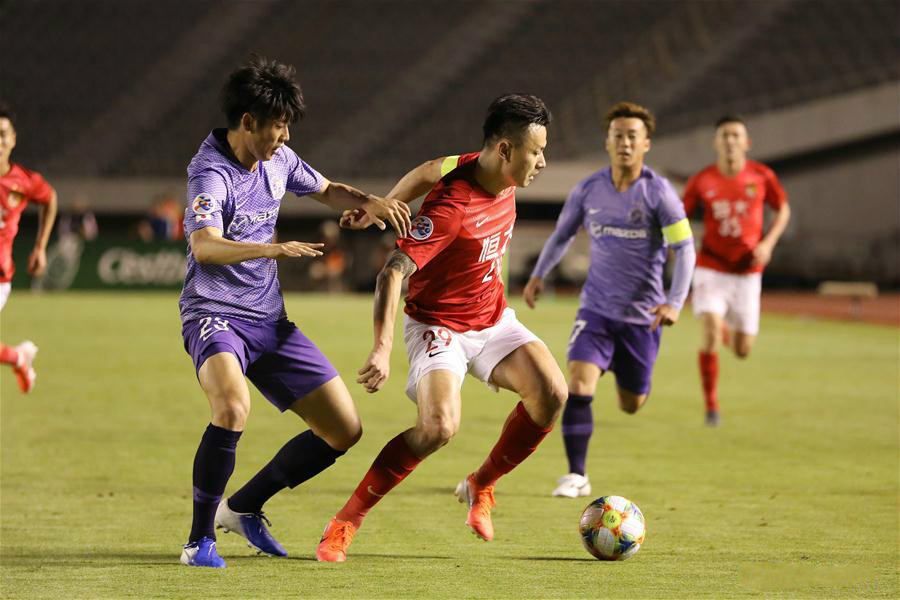 2019 AFC Champions League group F: Guangzhou Evergrande vs. Sanfrecce Hiroshima