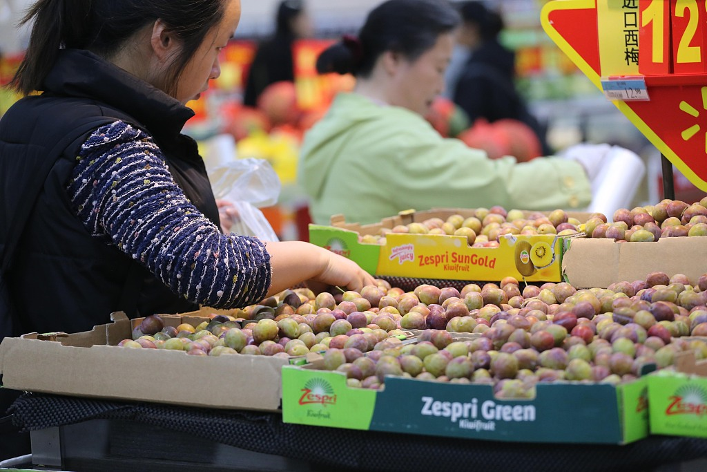 China's CPI up 2.5 pct in April