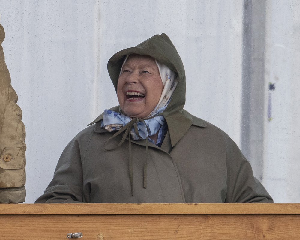The Queen was all smiles on Day 1 of the Royal Windsor Horse Show