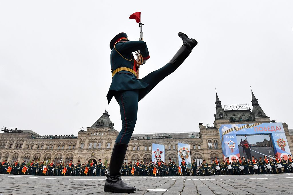 Russia marks Victory Day with huge parade in Red Square