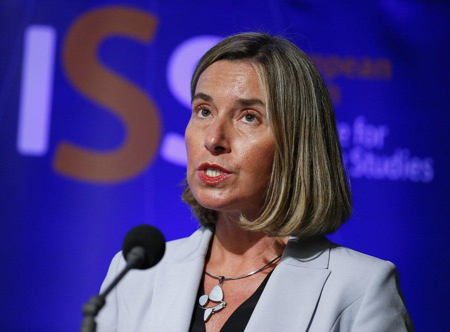 EU's Mogherini says Iran so far 'fully compliant' with nuclear deal