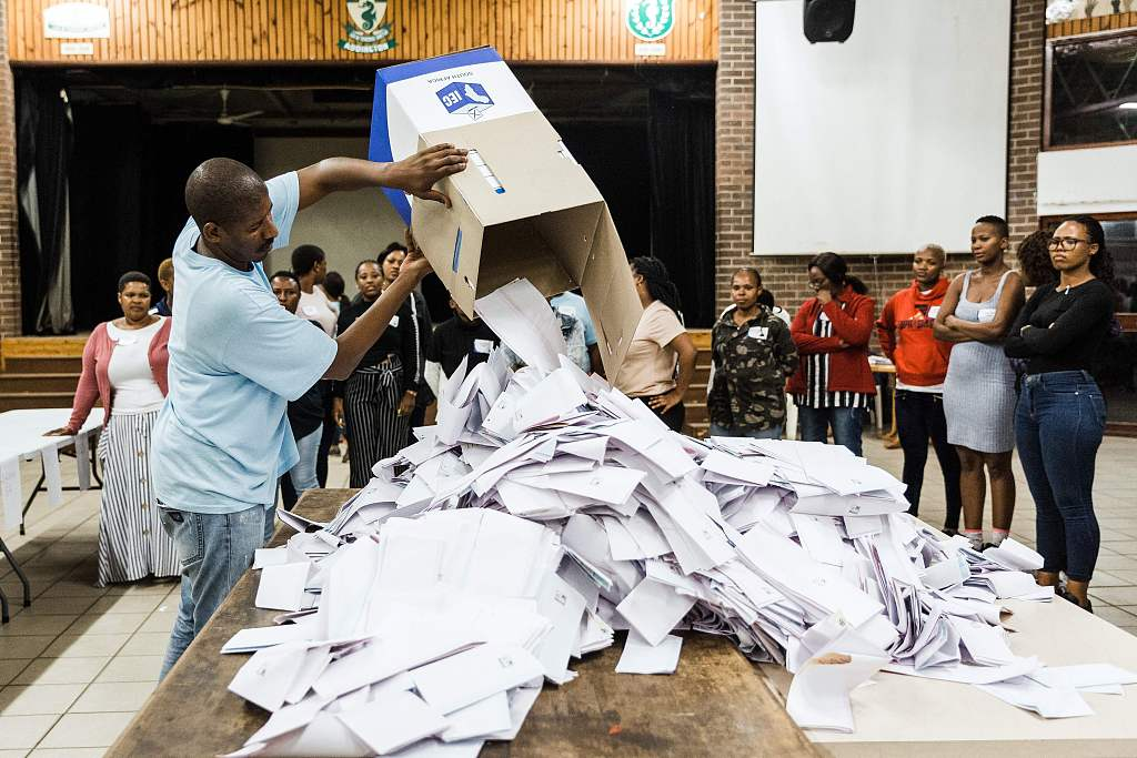 S.African ruling party denies using foreigners to bolster votes