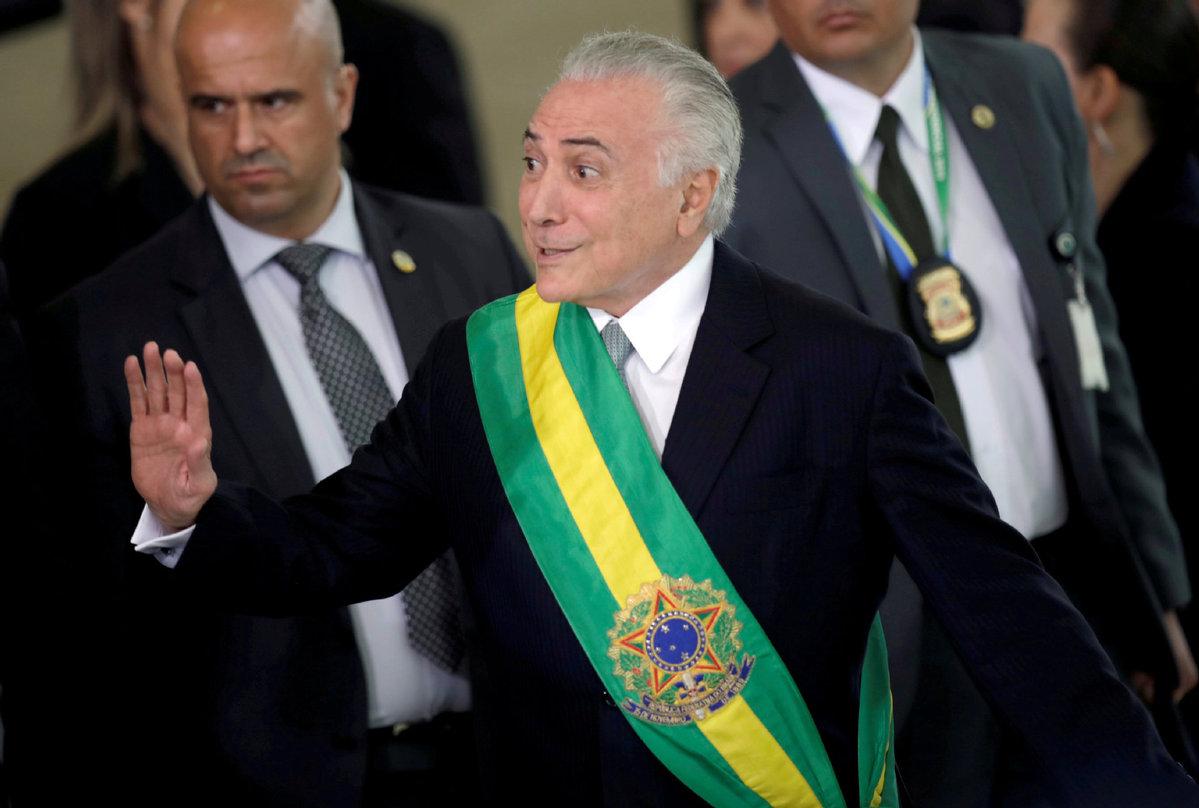 Brazil's ex-President Temer surrenders to police