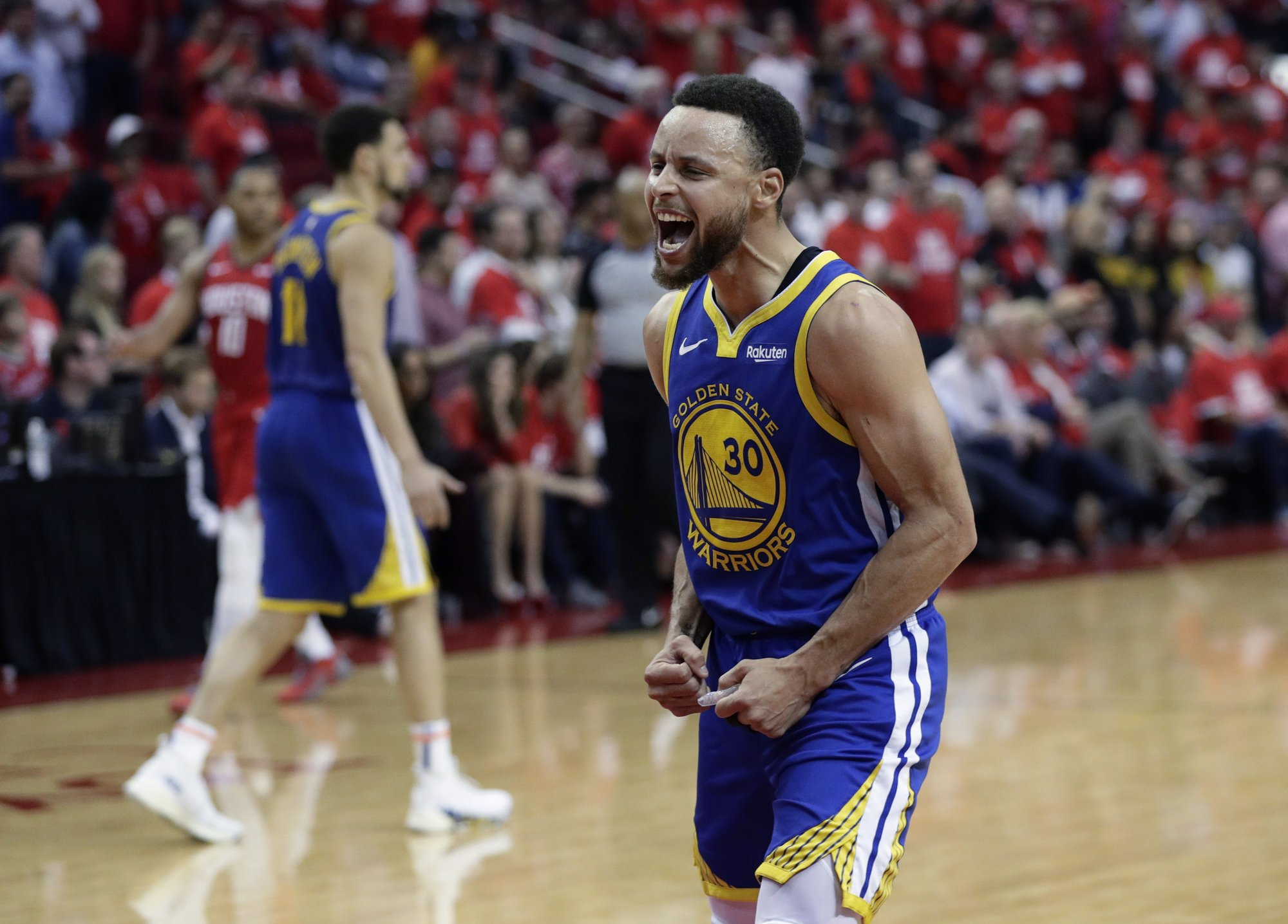 Warriors move to conference finals despite missing Durant