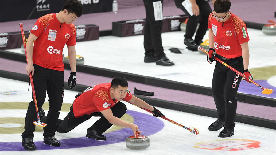 Chinese men's team reaches Curling World Cup final