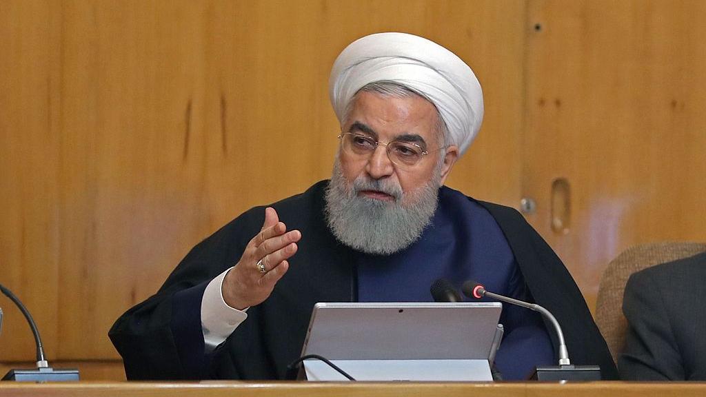Iran's Rouhani calls for unity to face 'unprecedented' US pressure