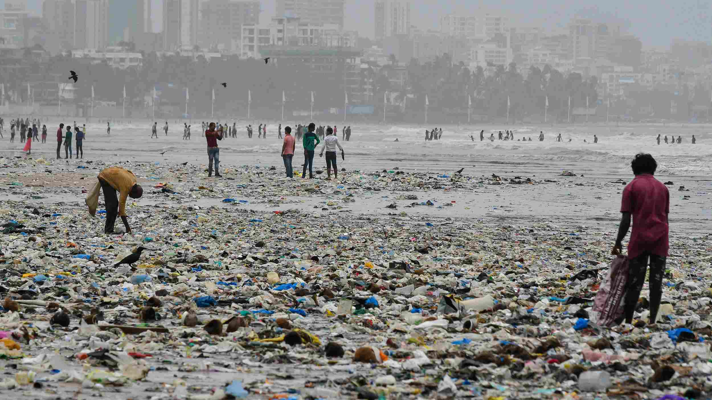 186 countries in the world agree deal to cut plastic pollution, not including the U.S.
