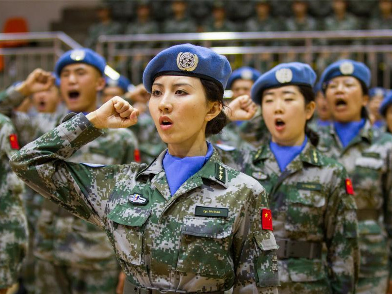 China sends female mine removal experts on UN peacekeeping team for first time