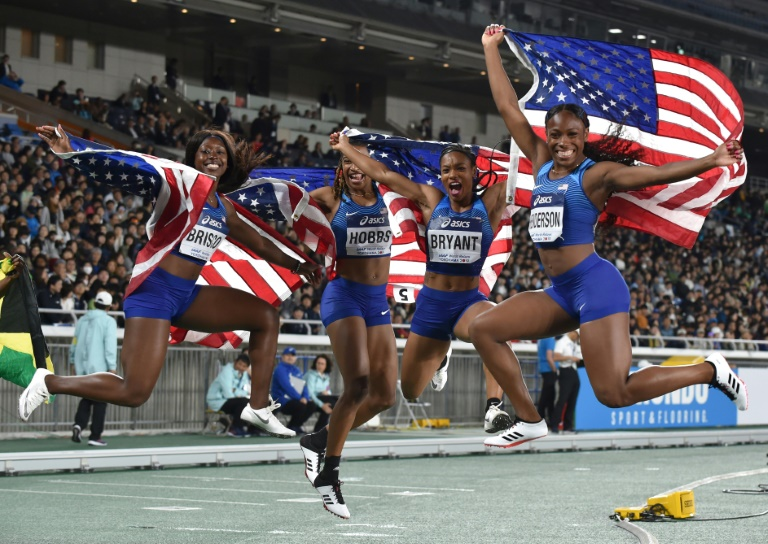 American big-shots bruised but victorious at World Relays