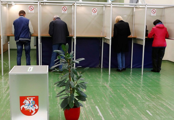 Simonyte, Nauseda reach second round of Lithuanian presidential election