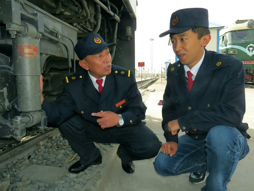 Three generations of train engineers track progress of country's railways