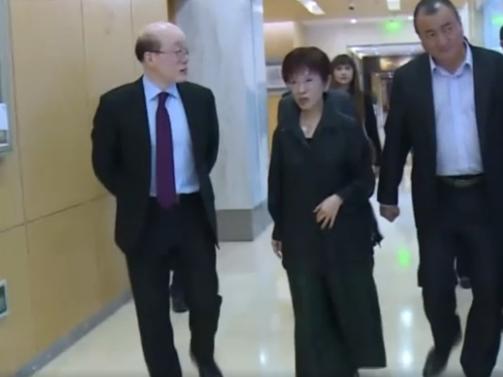Hung Hsiu-chu attends symposium in Beijing