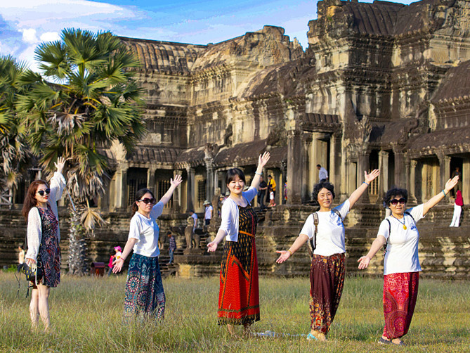 Chinese tourists to Cambodia continue to rise in Q1