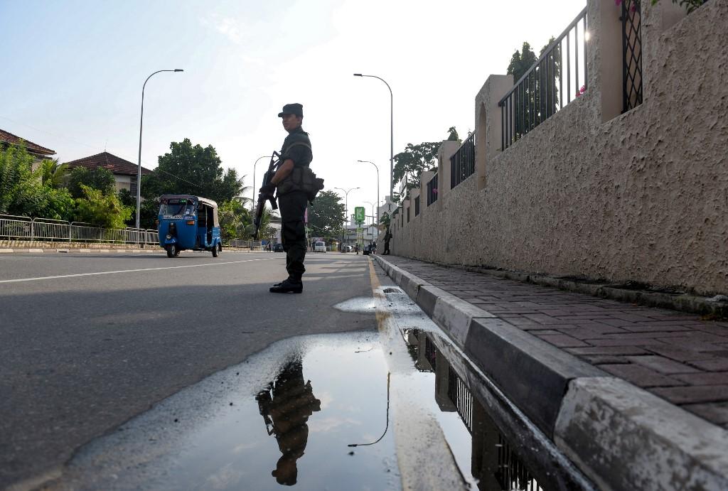 Sri Lanka imposes nationwide curfew following violent clashes