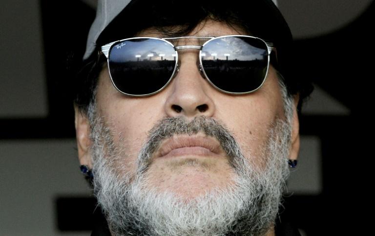 'Half man, half god' Maradona is king of Cannes