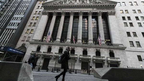 US stocks trade sharply lower amid worsening global trade prospect