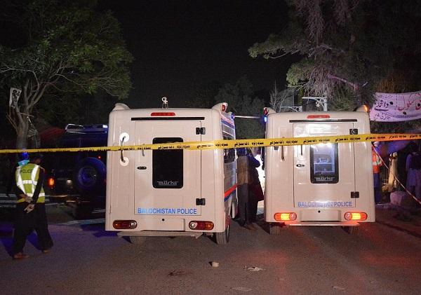 4 policemen killed, 12 injured in bomb blast in SW Pakistan
