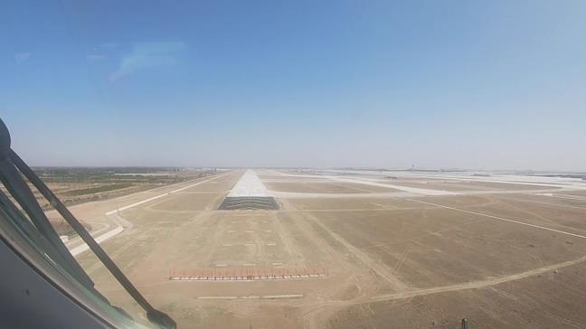 Cockpit view: Experience a plane test flight at Beijing's new airport
