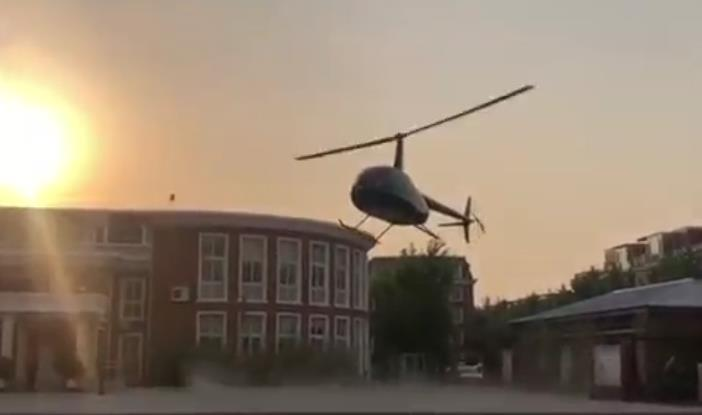 Father dismisses rumors about helicopter demonstration