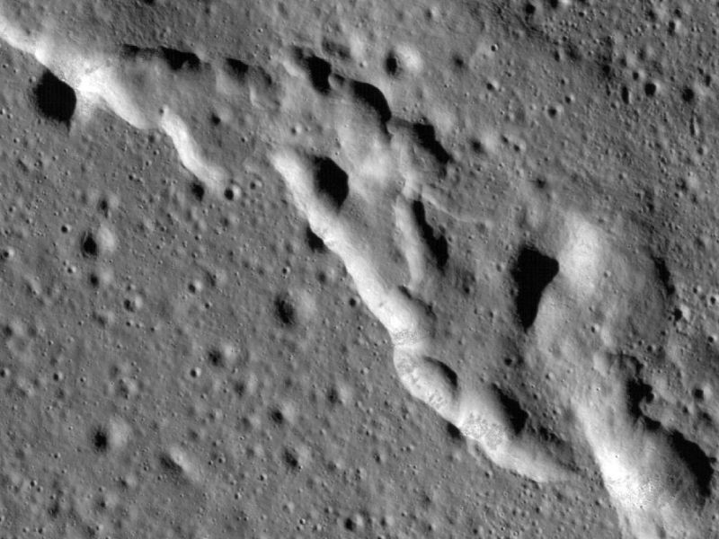 The Moon is shrinking: study