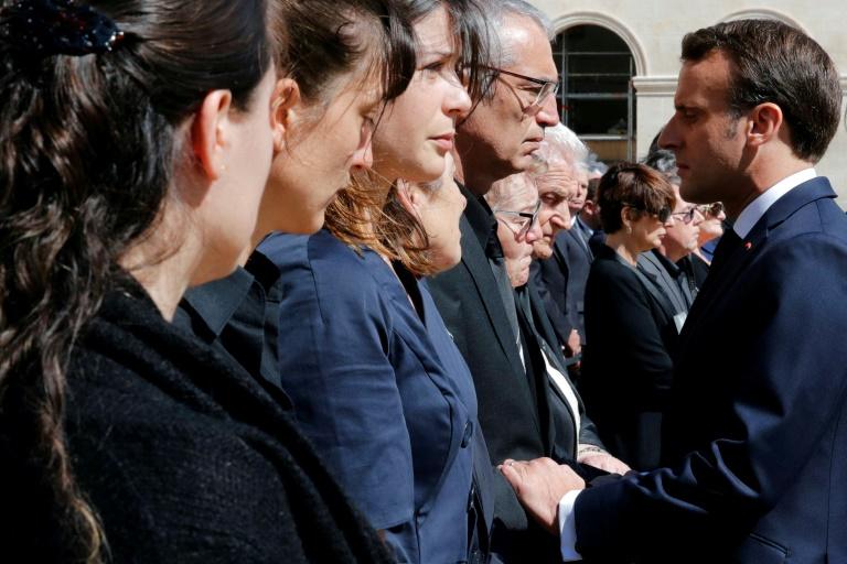 Row as France remembers troops slain in hostage raid
