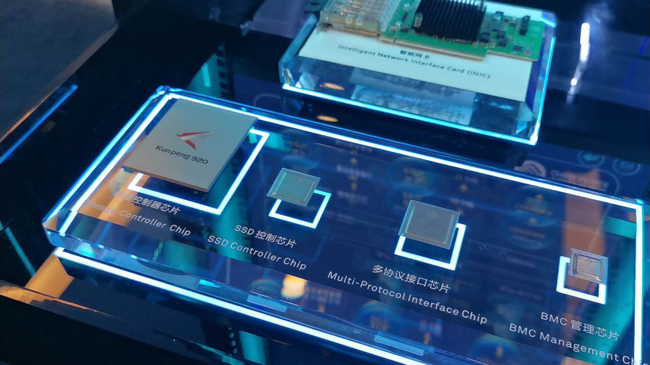 Huawei unveils database tech based on its own server chips