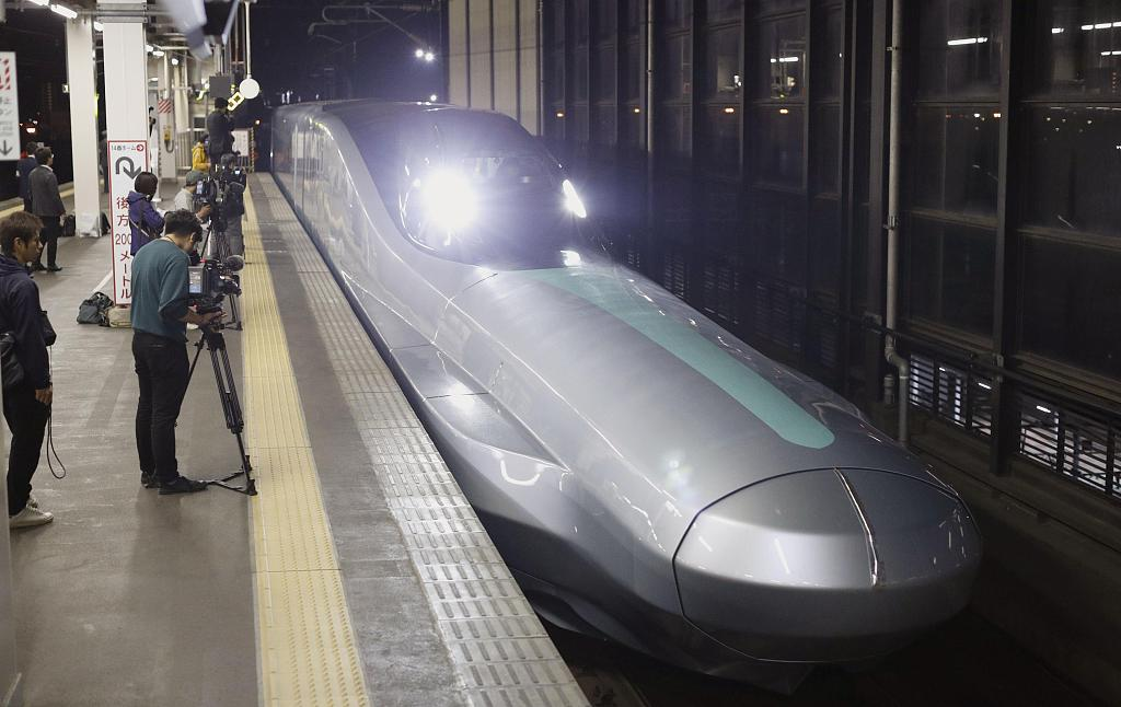Japan tests next-generation Shinkansen bullet train