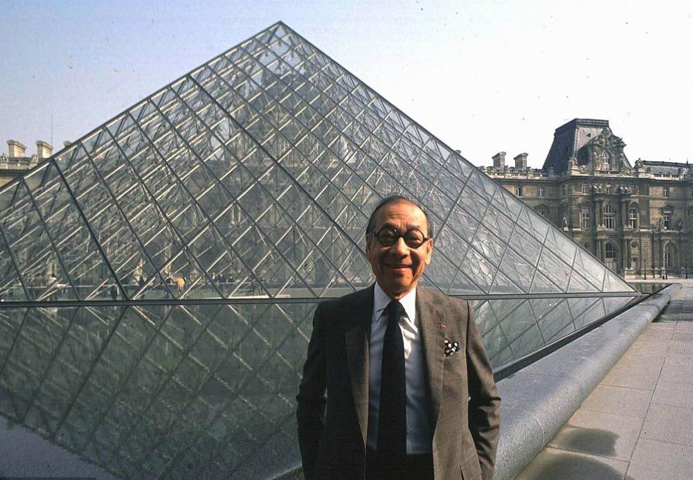 Louvre pyramid architect I M Pei dies aged 102