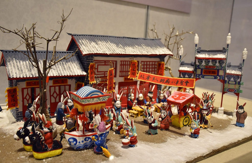 Exhibition of intangible cultural heritage in Asia kicks off