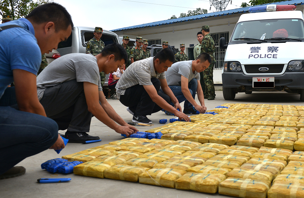 Over 11 kg of meth seized in SW China's Yunnan