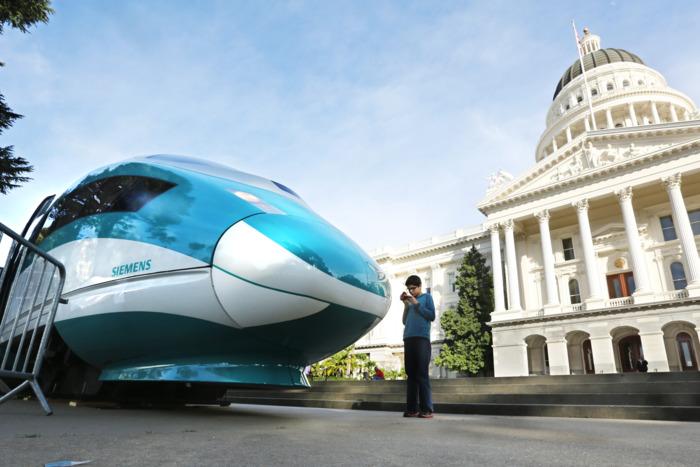 Trump administration revokes funding for California high-speed rail
