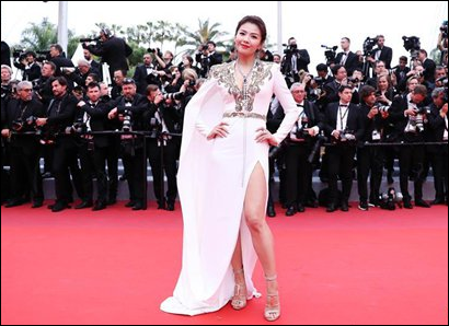 Netizens criticize red carpet moochers in Cannes Film Festival