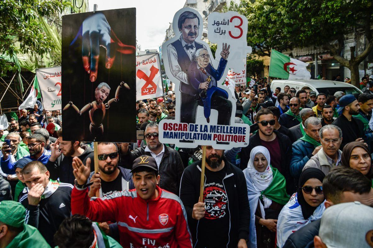 Algerians reject presidential election planned on July 4