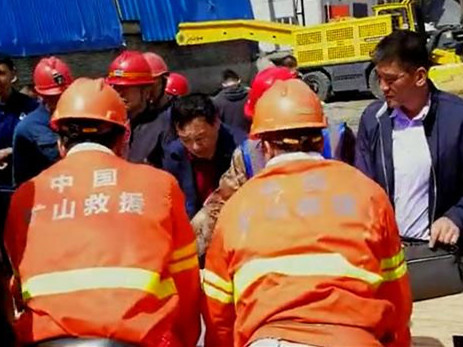 2 more rescued 48 hours after China iron mine flooding