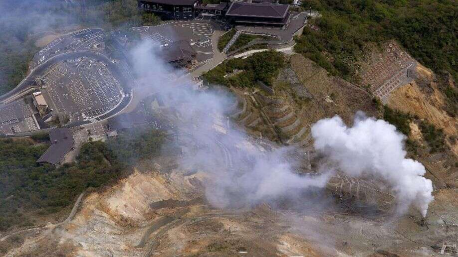 Volcanic alert level raised for Mt. Hakone near Tokyo