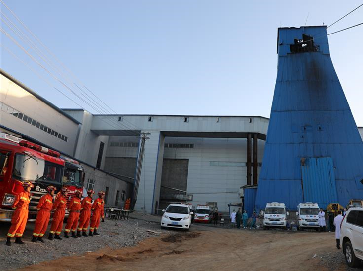 Six mine workers remain missing in NE China, 37 rescued