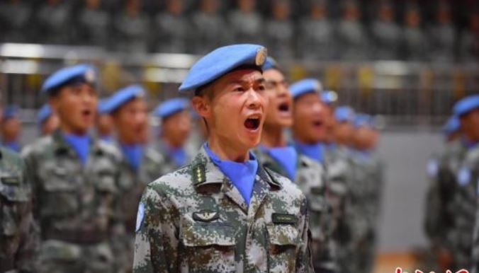 New group of Chinese peacekeepers heads for Lebanon