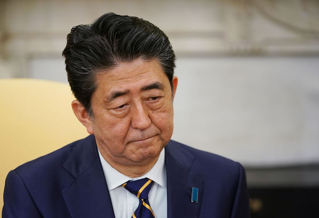 Approval rating for Japanese PM Abe's cabinet drops slightly