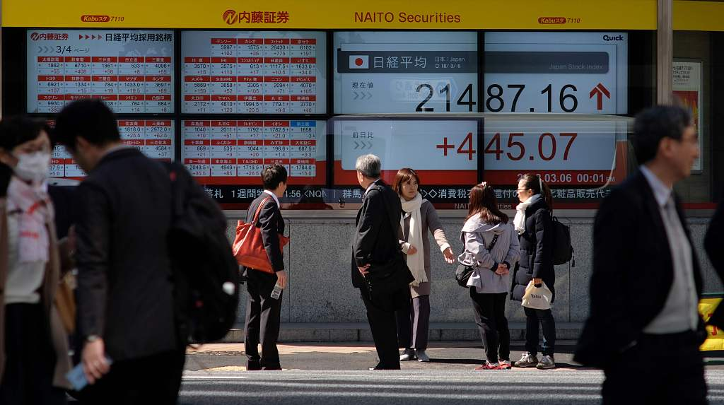 Tokyo stocks open higher as Japan's GDP data beats expectations