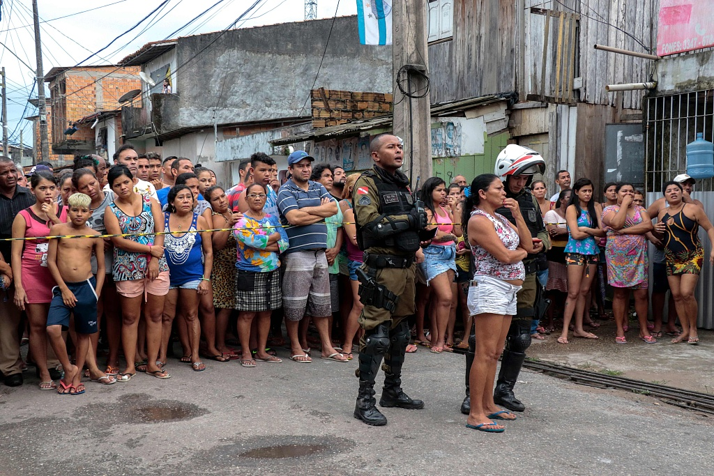 Eleven killed in shooting in bar in Brazil: officials