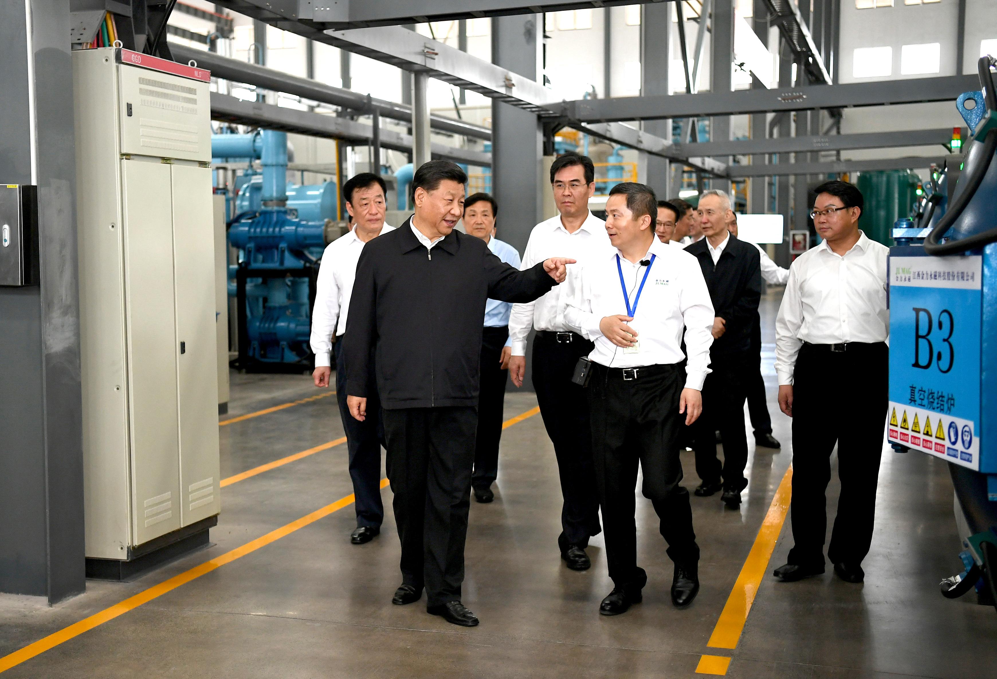President Xi makes inspection tour of Jiangxi