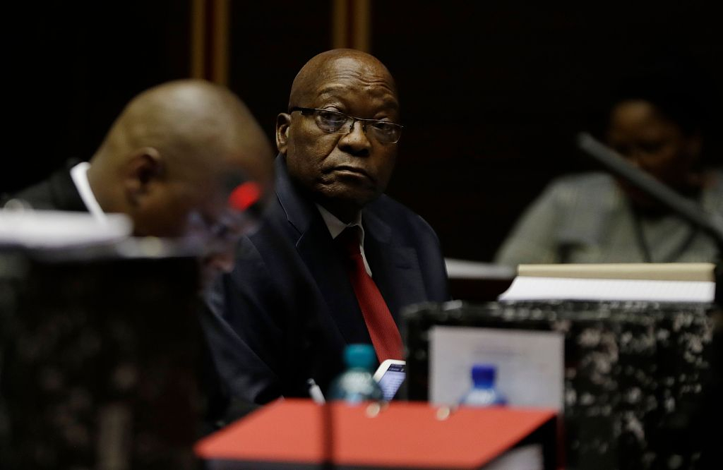 Zuma's lawyers push for S. Africa graft trial to be dropped