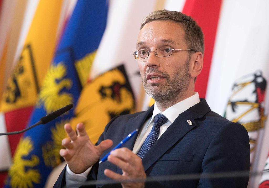 Austrian Chancellor to dismiss Interior Minister