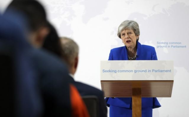 May promises vote on 2nd referendum in Withdrawal Agreement Bill