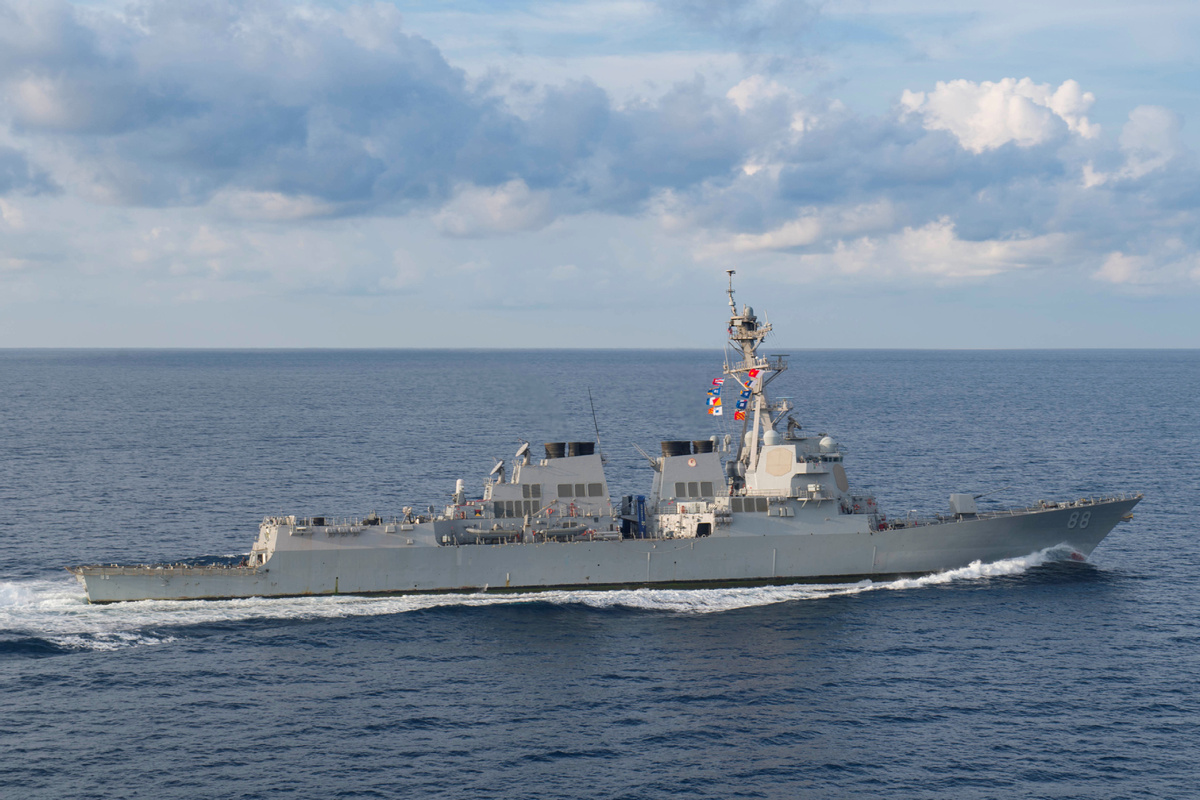 US Navy's South China Sea passing criticized