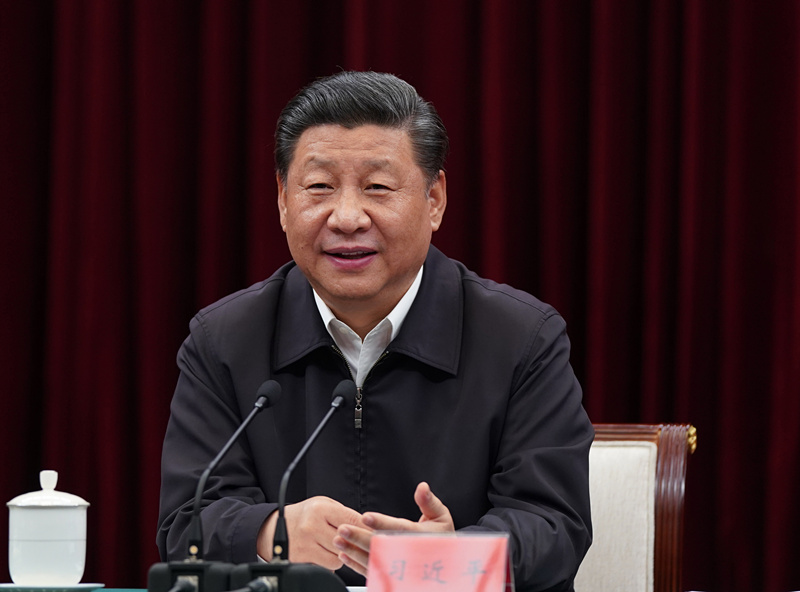Xi presides over symposium on promoting central region rise in Nanchang