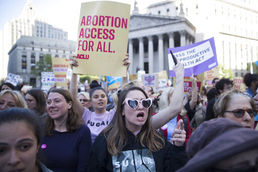 Thousands rally in NYC to protest new abortion bans across US