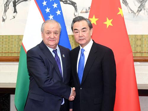 Chinese state councilor meets Uzbek FM