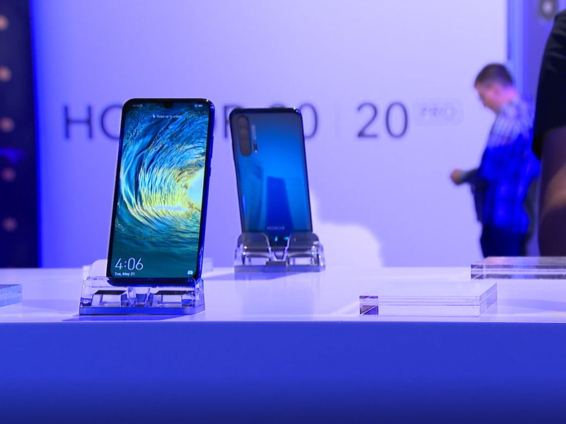 Honor 20: Huawei launches premium phones with four rear cameras